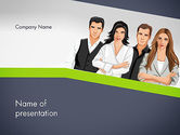 People: Young People Illustration PowerPoint Template #13845