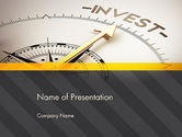 Financial/Accounting: Invest Indicator PowerPoint Template #13952