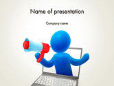 Careers/Industry: Call to Action PowerPoint Template #14068