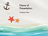 Holiday/Special Occasion: Seacoast PowerPoint Template #14124