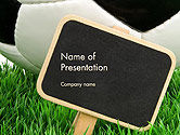 Sports: Soccer School PowerPoint Template #14132