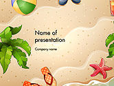Holiday/Special Occasion: Happy Summer Holidays PowerPoint Template #14142