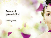 Careers/Industry: Beauty Parlor PowerPoint Template #14165