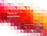 Abstract/Textures: Heat Map Abstract PowerPoint Template  #14169