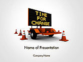 Business Concepts: Making Changes PowerPoint Template #14172
