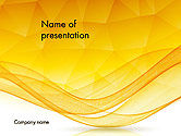 Abstract/Textures: Geometric Polygons and Waves Abstract PowerPoint Template #14186