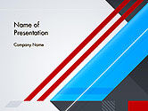 Abstract/Textures: Diagonal Lines Geometrical Abstraction PowerPoint Template #14219
