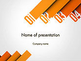 Business Concepts: Four Options PowerPoint Template #14229