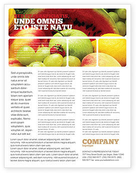 Food & Beverage: Fresh Fruits Of Summer Flyer Template #00689