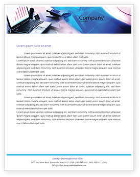 Technology, Science & Computers: Multimedia Letterhead Template #00698