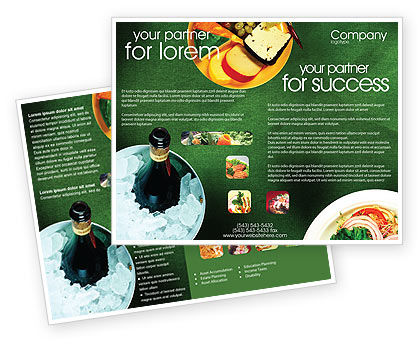 Food & Beverage: Banquet Brochure Template #00725