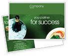 Food & Beverage: Banquet Postcard Template #00725