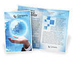 Global: Crystal Globe Brochure Template #00763