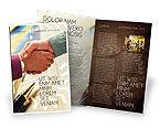 Business: Plantilla de folleto - firma del acuerdo #00925