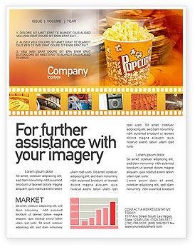 movie brochure template - movie newsletter