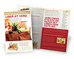 Food & Beverage: Boodschappentas Brochure Template #00972