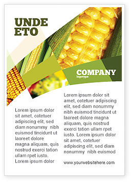 Food & Beverage: Maize Ad Template #00973