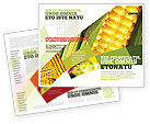 Food & Beverage: Maïs Brochure Template #00973