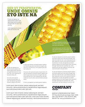 Food & Beverage: Maize Flyer Template #00973