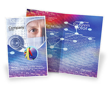 Chemical Compound Brochure Template