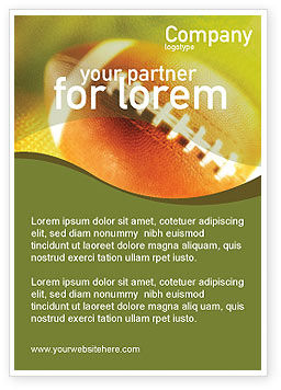 Sports: ボールレーシング - 広告テンプレート #01254