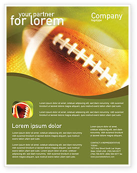 Sports: Ball Lacing Flyer Template #01254