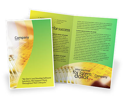 Lab Testing Brochure Template