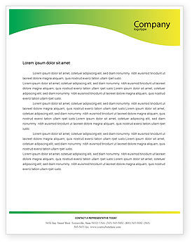 Lab Testing Letterhead Template, 01255, Technology, Science & Computers — PoweredTemplate.com