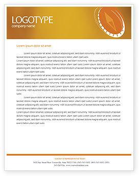 Compass Letterhead Template, 01284, Business Concepts — PoweredTemplate.com