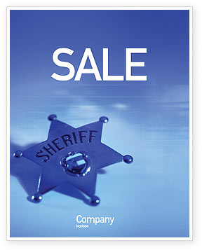 Legal: Sheriff Sale Poster Template #01285