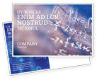 Education & Training: Higher Mathematics Postcard Template #01343