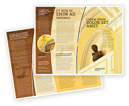 Column Brochure Template