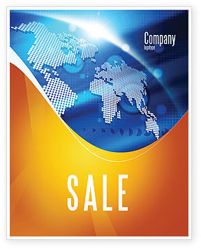Global: Global Technologies Sale Poster Template #01456