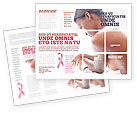 Medical: Breast Cancer Brochure Template #01459