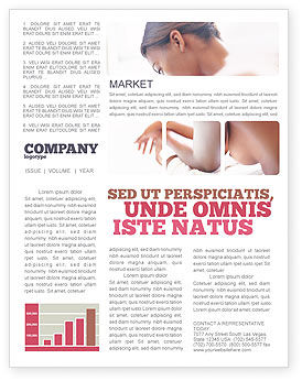 Medical: Breast Cancer Newsletter Template #01459