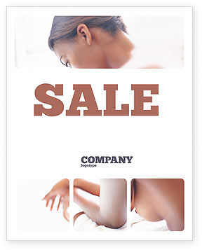 Medical: Breast Cancer Sale Poster Template #01459