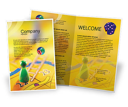 Business Concepts: Table Game Brochure Template #01515