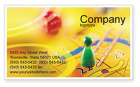 Business Concepts: Table Game Business Card Template #01515
