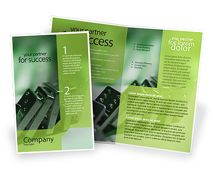 Business Concepts: Domino Brochure Template #01521