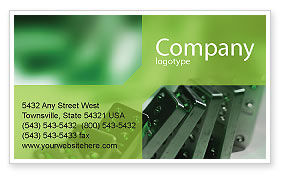 Business Concepts: Domino Business Card Template #01521
