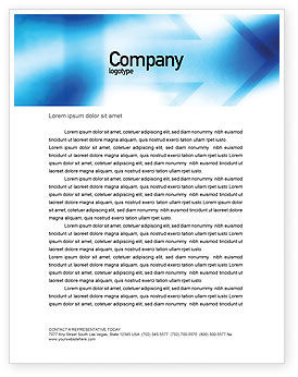 Way Letterhead Template, 01526, Abstract/Textures — PoweredTemplate.com