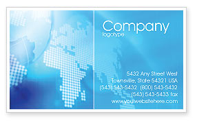 Global: Businessman Business Card Template #01534
