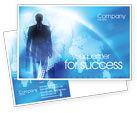 Global: Businessman Postcard Template #01534