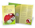 Global: Terrestrial Globe Brochure Template #01541