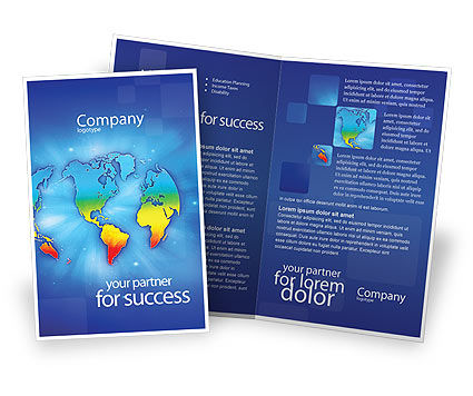 Global: Continental Brochure Template #01593