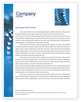 Utilities/Industrial: Mechanism Letterhead Template #01604
