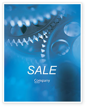 Utilities/Industrial: Mechanism Sale Poster Template #01604