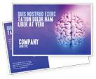 Medical: 脳 - はがきテンプレート #01606