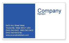 Military: Navy Business Card Template #01614