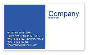 Navy Business Card Template, 01614, Military — PoweredTemplate.com
